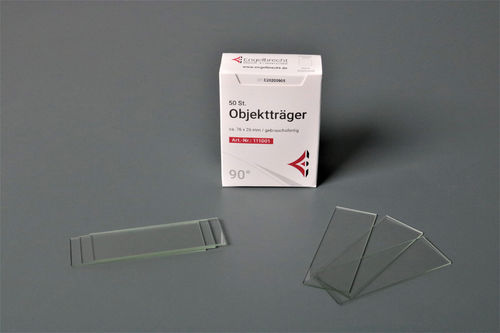Microscope Slides 90° ground edges