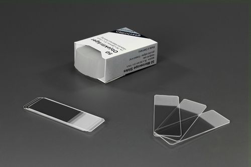 Microscope Slides 45° ground edges